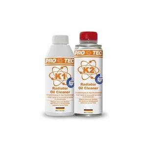 Kit indepartare ulei din instalatia de racire (2 componente), RADIATOR OIL CLEANER PROTEC