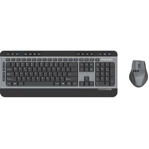 Kit tastatura si mouse PROMATE ProCombo-9, USB, negru