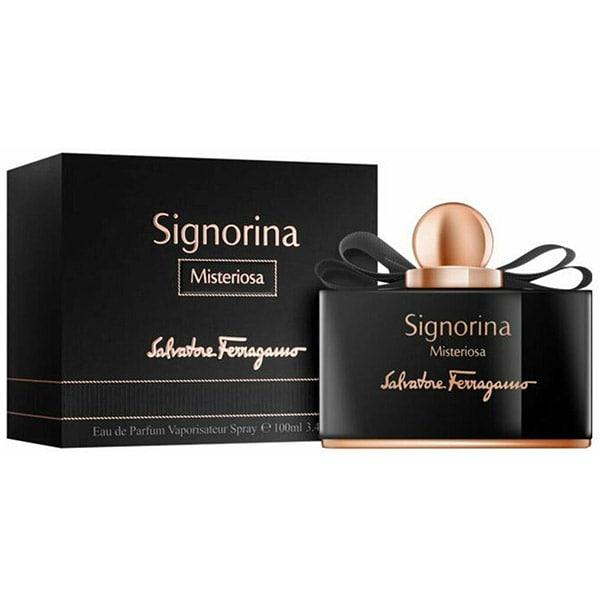 Apa de parfum SALVATORE FERRAGAMO Signorina Misteriosa, Femei, 100ml