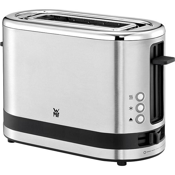 Prajitor de paine WMF Kitchen Minis 414100011, 1 felie, 600W, argintiu-negru