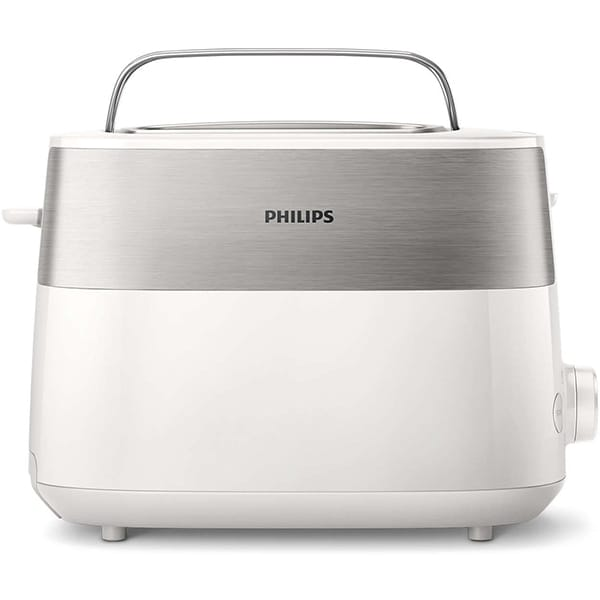 Prajitor paine PHILIPS HD2516/00 Daily Collection, 2 felii, 830W, alb-argintiu