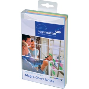 Set notite adezive LEGAMASTER, 500 file, 10 x 10mm, diverse culori