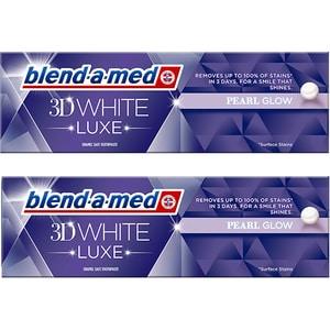 Pasta de dinti BLEND-A-MED 3D White Luxe, 2buc x 75ml