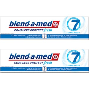 Pasta de dinti BLEND-A-MED Complete Protect 7, 2buc x 100ml