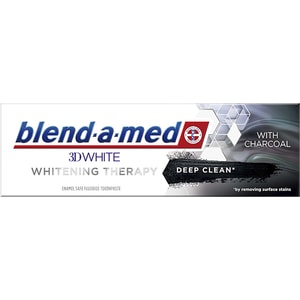 Pasta de dinti BLEND-A-MED 3DWhite Whitening Therapy Deep Clean, 75ml