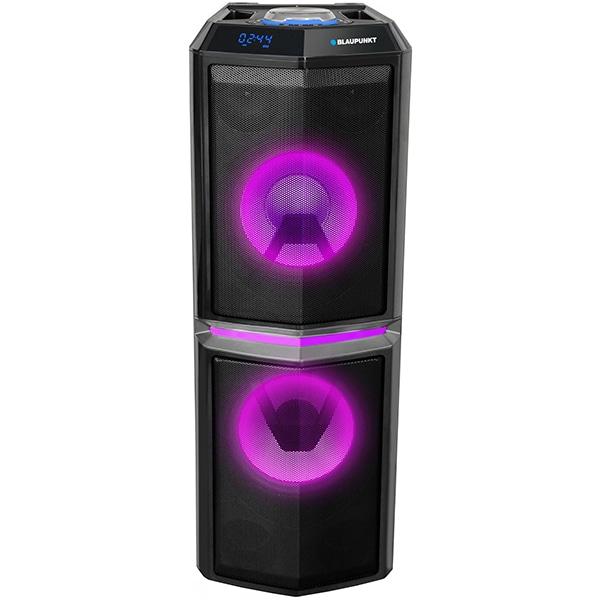 Boxa portabila BLAUPUNKT PS10DB, Bluetooth, Radio FM, Karaoke, negru