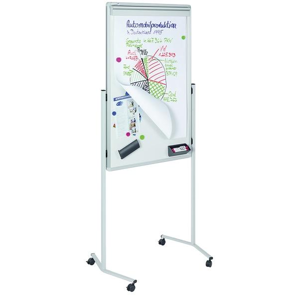 Tabla magnetica multifunctionala LEGAMASTER, 120 x 75 cm, alb