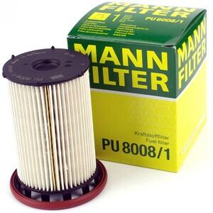 Filtru combustibil MANN PU80081 Audi Q3, Seat Alhambra II, VW CC/Passat/Sharan II/Tiguan I