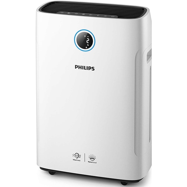 Purificator PHILIPS AC2729/50, 4 trepte viteza, HEPA, Wi-Fi, alb-negru