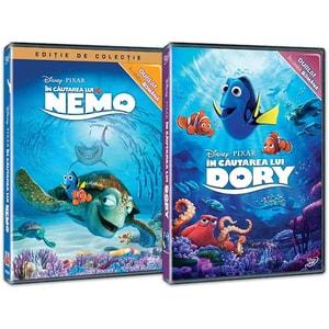 Pachet In cautarea lui Nemo / In cautarea lui Dory