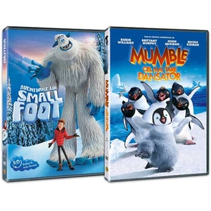 Pachet Aventurile lui Smallfoot / Mumble cel mai tare dansator