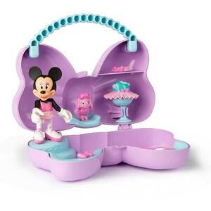 Papusa Minnie Mouse DISNEY Bowcket 185609, 3 ani+, mov-bleu