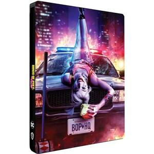 Pasari de prada si fantastica Harley Quinn Steelbook Blu-ray