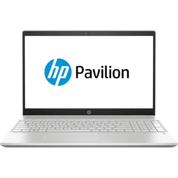 """Laptop HP Pavilion 15-cs1005nq, Intel Core i7-8565U pana la 4.6GHz, 15.6"""" Full HD, 8GB, SSD 256GB, NVIDIA GeForce MX150 2GB, Free Dos, Argintiu"""