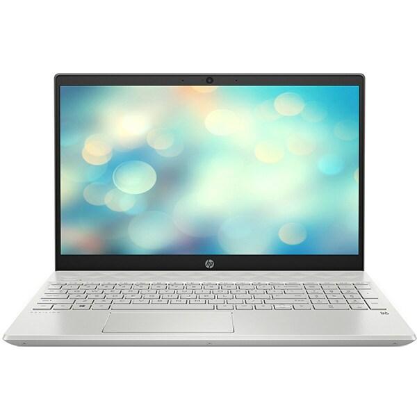 "Laptop HP Pavilion 15-cs3003nq, Intel Core i5-1035G1 pana la 3.6GHz, 15.6"" Full HD, 16GB, SSD 512GB, NVIDIA GeForce MX130 2GB, Free DOS, argintiu"