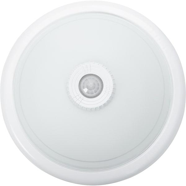 Plafoniera ERSTE LICHT Senzor Selum EL0025654, 2x25W, E27, alb