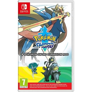 Pokemon Sword + Expansion pass Nintendo Switch