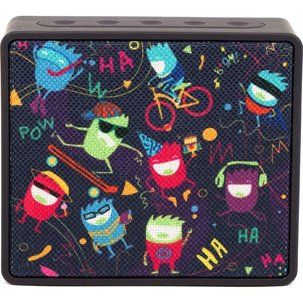 Boxa portabila HAMA Pocket HaHaHa Live, Bluetooth, MicroSD, violet