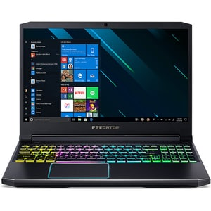 "Laptop Gaming ACER Predator Helios 300 PH315-53-70HE, Intel Core i7-10750H pana la 5.0GHz, 15.6"" Full HD, 16GB, SSD 1TB, NVIDIA GeForce RTX 2060 6GB, Windows 10 Home, negru"