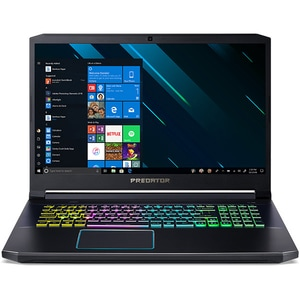 "Laptop Gaming ACER Predator Helios 300 PH317-53, Intel Core i7-9750H pana la 4.5GHz, 17.3"" Full HD, 16GB, SSD 512GB, NVIDIA GeForce RTX 2070 8GB, Windows 10 Home, negru"