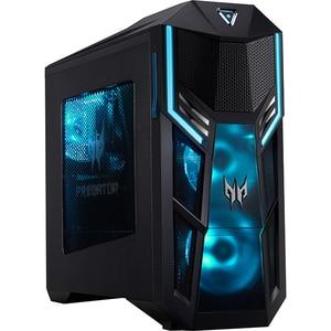 Sistem Desktop Gaming ACER Predator Orion 5000, Intel Core i5-10400F pana la 4.3GHz, 16GB, 1TB + SSD 512GB, NVIDIA GeForce RTX 2070 Super 8GB, Windows 10 Home