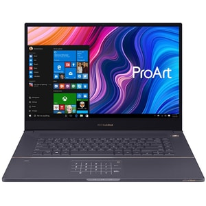 "Laptop ASUS ProArt StudioBook H700GV-AV040R, Intel Xeon E-2276M pana la 4.7GHz, 17"" WUXGA, 32GB, SSD 2 x 512GB, NVIDIA GeForce RTX 2060 6GB, Windows 10 Pro, Star Grey"