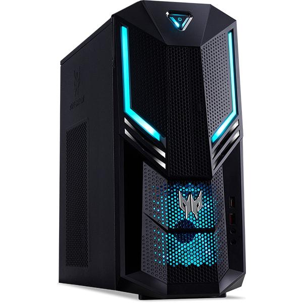 Sistem Desktop Gaming ACER Predator Orion 3000, Intel Core i5-9400F pana la 4.1GHz, 16GB, SSD 512GB, NVIDIA GeForce RTX 2060 6GB, Endless