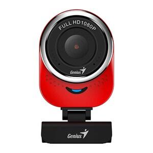 Camera Web GENIUS QCam 6000, Full HD 1080p, rosu