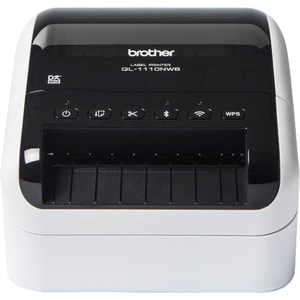 Imprimanta de etichete pentru livrari sau depozite BROTHER QL-1110NWB, USB, Wi-Fi, Retea