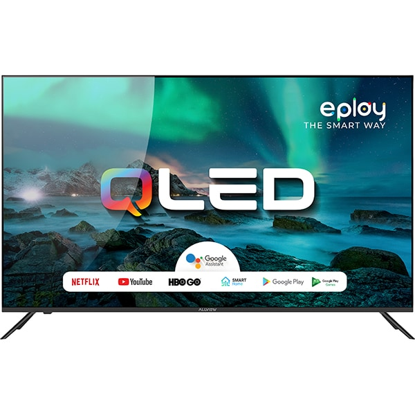Televizor QLED Smart ALLVIEW QLED50EPLAY6100-U, 4K Ultra HD, 126cm