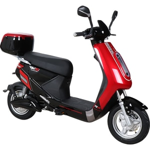 Moped electric RKS R8 14 inch, rosu