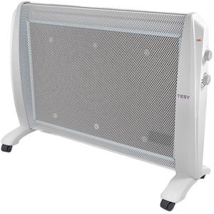 Panou radiant electric de podea TESY MC 2012, 2 trepte putere, 2000W, Termostat reglabil, alb