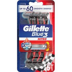 Aparat de ras de unica folosinta GILLETTE Blue Pride, 6 bucati