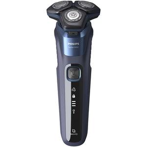 Aparat de ras PHILIPS Series 5000 S5585/10, acumulator, autonomie 60 min, lame SteelPrecision, negru