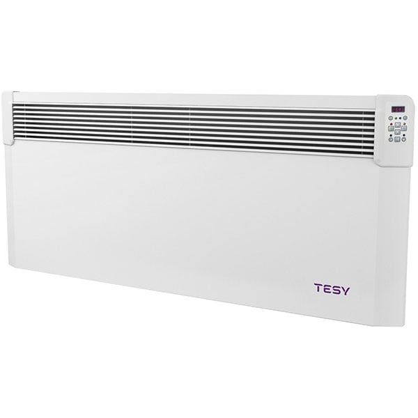 Convector electric de perete TESY Conveco CN04 250 EIS CLOUD W, 2500W, Wi-Fi, alb