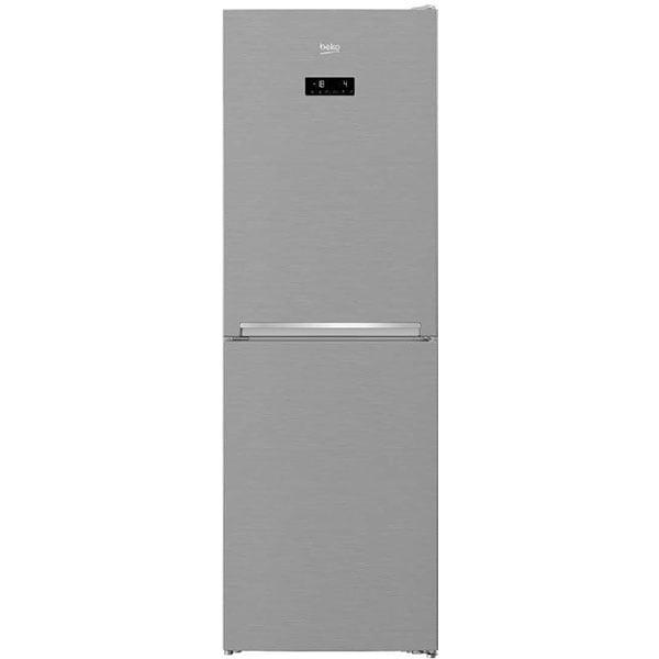 Combina frigorifica BEKO RCNA386E40ZXBN, NeoFrost, 358 l, H 203 cm, Clasa E, argintiu