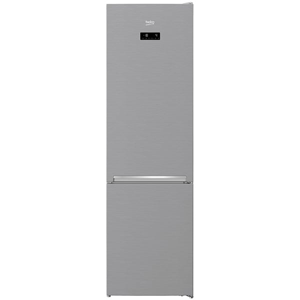 Combina frigorifica BEKO RCNA406E40XB, NeoFrost, 362 l, H 203 cm, Clasa A+++, argintiu