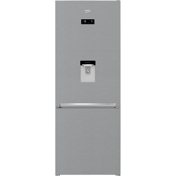 Combina frigorifica BEKO RCNE560E40DZXBN, NeoFrost, 497 l, H 192 cm, Clasa E, inox