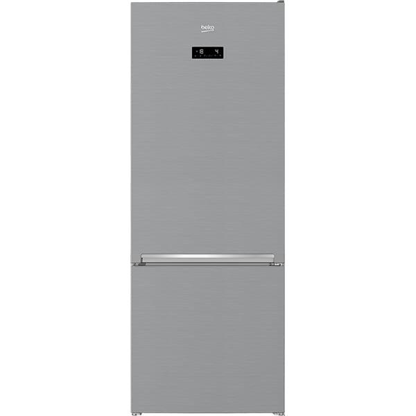 Combina frigorifica BEKO RCNE560E40ZXBN, NeoFrost, 501 l, H 192 cm, Clasa E, inox