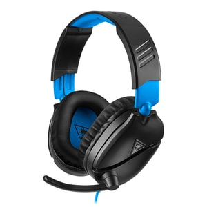 Casti Gaming TURTLE BEACH Recon 70P, multiplatforma, 3.5mm, negru-albastru