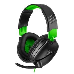 Casti Gaming TURTLE BEACH Recon 70X, multiplatforma, 3.5mm, negru-verde