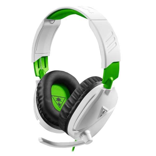 Casti Gaming TURTLE BEACH Recon 70X, multiplatforma, 3.5mm, alb-verde