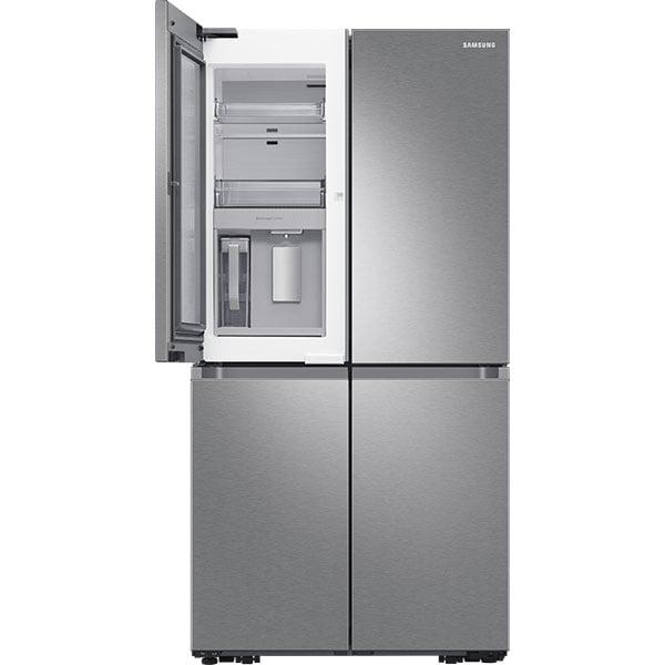 Side by Side SAMSUNG RF65A967ESR/EO, No Frost, 647 l, H 182.5 cm, Clasa E, Dozator apa, Beverage Center, Triple Cooling, inox