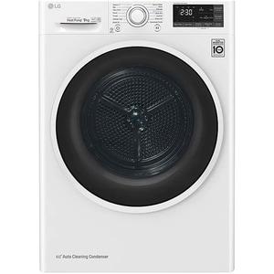 Uscator de rufe LG RH90V5AV6Q, Pompa de caldura, 9 kg, 14 programe, Clasa A++, alb