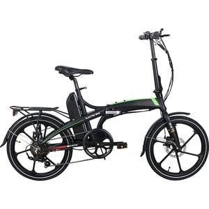Bicicleta electrica pliabila RKS MX7, 20 inch, negru