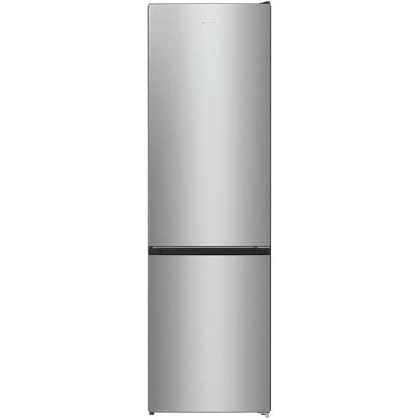 Combina frigorifica GORENJE RK6201ES4, FrostLess, 348 l, H 200 cm, Clasa F, argintiu
