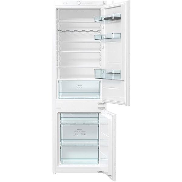 Combina frigorifica incorporabila GORENJE RKI4182E1, FrostLess, 260 l, H 177.2 cm, Clasa F, alb