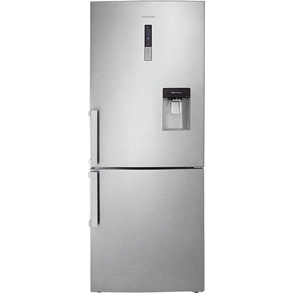 Combina frigorifica SAMSUNG RL436EFBASL/EO, No Frost, 458 l, H 185 cm, Clasa E, Dozator apa, All-Around Cooling, inox