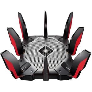 Router Wireless Gigabit TP-LINK Archer AX11000, Tri-Band 1148 + 4804 + 4804 Mbps, USB 3.0 Type C, negru