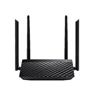 Router Wireless ASUS RT-AC1200 V2, Dual-Band 300 + 867 Mbps, negru